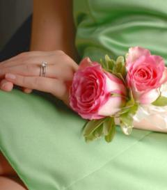 photo of Pink Rose Corsage