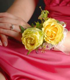 photo of Yellow Rose Corsage
