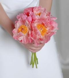 photo of Pink Peony Bridal Bouquet