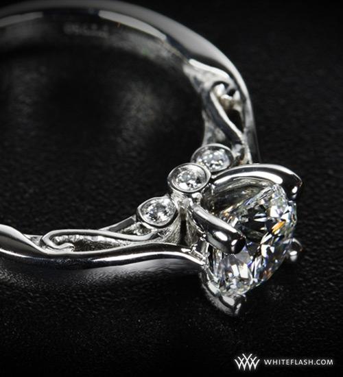 photo of Engagement Ring: WhiteFlash, 4-Prong, Santorini Setting