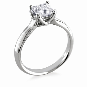 photo of Engagement Ring: WhiteFlash, 'W-Prong' Diamond Setting
