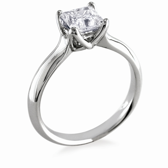 Engagement Ring: WhiteFlash, 'W-Prong' Diamond Setting