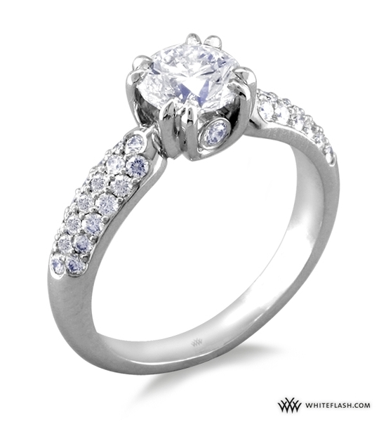 Engagement Ring: WhiteFlash, Eternity Diamond Setting