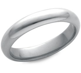 photo of Wedding Ring: 4mm Platinum