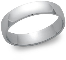 Wedding Ring: 5mm Platinum