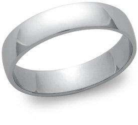 photo of Wedding Ring: 5mm Platinum