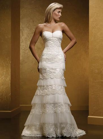 tiered wedding dress solano onewed 7997