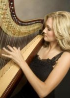photo of Grace Wepner Ludtke, Harpist