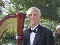 photo of Dr. Ted Nichelson, Harpist For Southern California