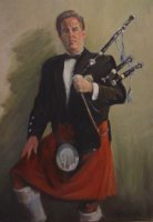 photo of Robert Patrick Lynch, The Irish Piper
