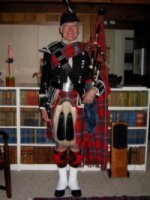 photo of David Waterhouse - Highland Bagpipes