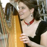 photo of Monica Schley, Harpist