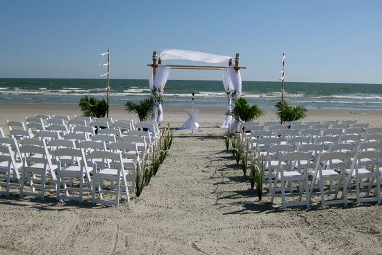 Sweetwater Bamboo Wedding Arbor Design and Rentals
