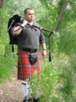 photo of Dave Glad Bagpipes & Co