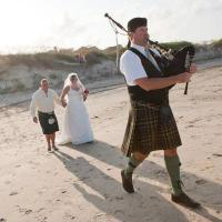 photo of Jim Roberts, Bagpiper