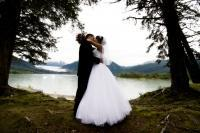 First_kiss_rain_forest_wedding.full