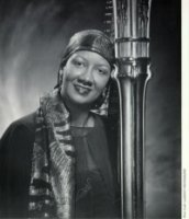 photo of Onita Sanders-Harpist and Singer