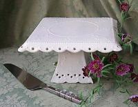 photo of Handmade Cake Stand - We Put Your Cake on a Pedestal!
