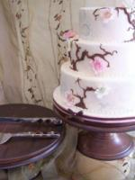 photo of Handmade Cake Stand-Helps Put Your Cake on a Pedestal!