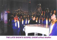 photo of THE LATE SHOW'S GOSPEL CHOIR