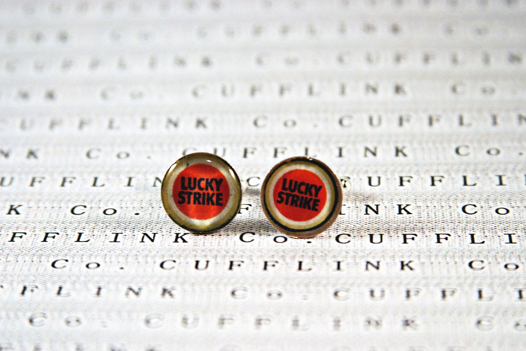 mad men inspired wedding ideas grooms cufflinks