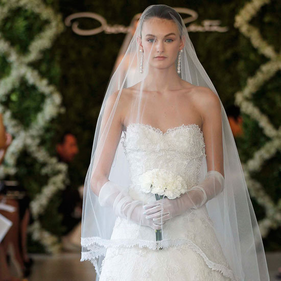 Wedding Dresses From Bridal Fashion Week 2012 oscar de la renta