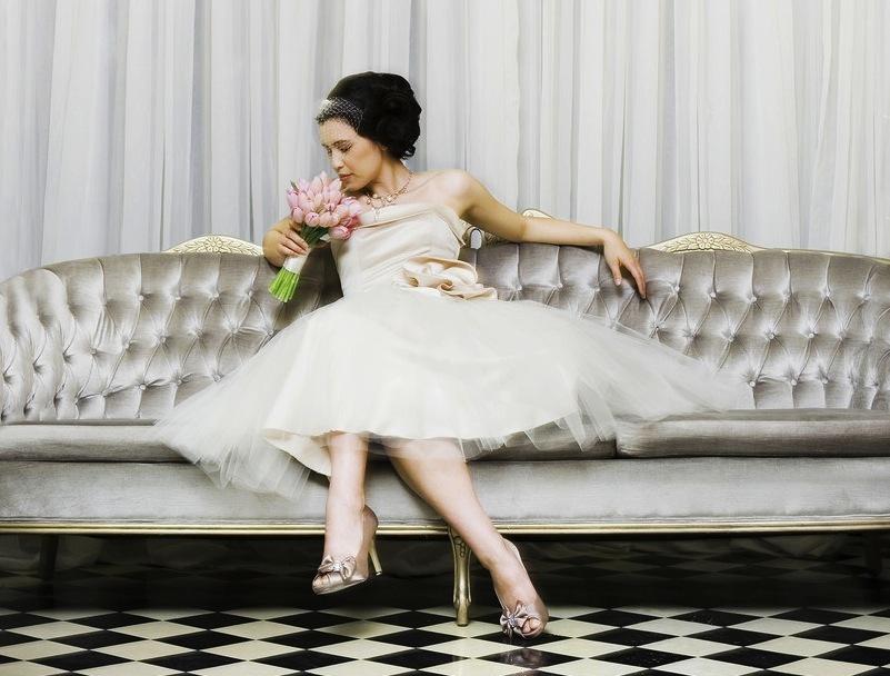 Vintage-inspired-wedding-dress-tea-length-tulle.full