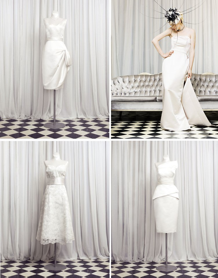 wedding dresses and LWDs for vintage inspired brides