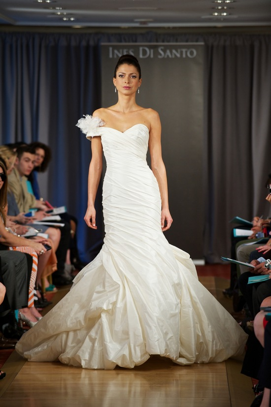 wedding dress spring 2013 bridal gowns Ines di Santo 1