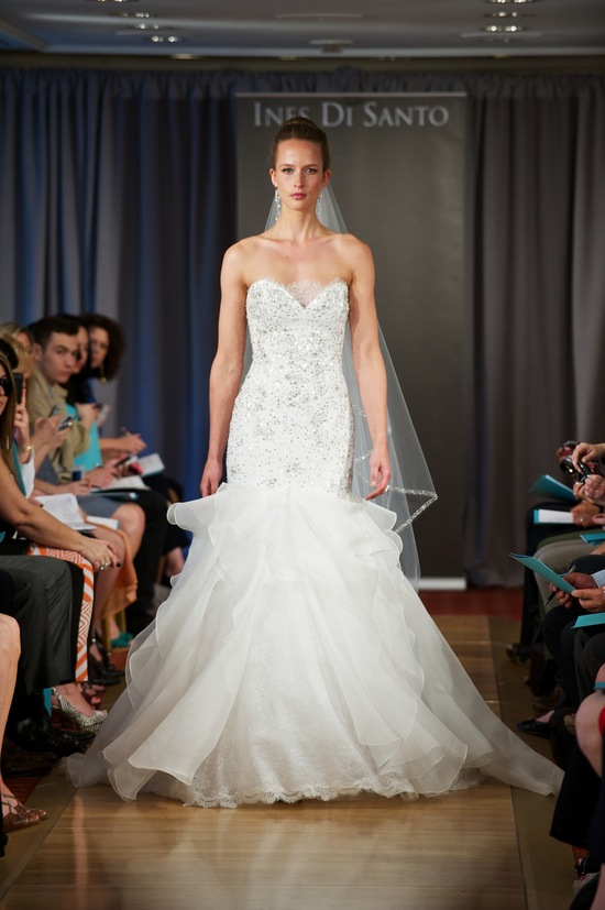 wedding dress spring 2013 bridal gowns Ines di Santo 6