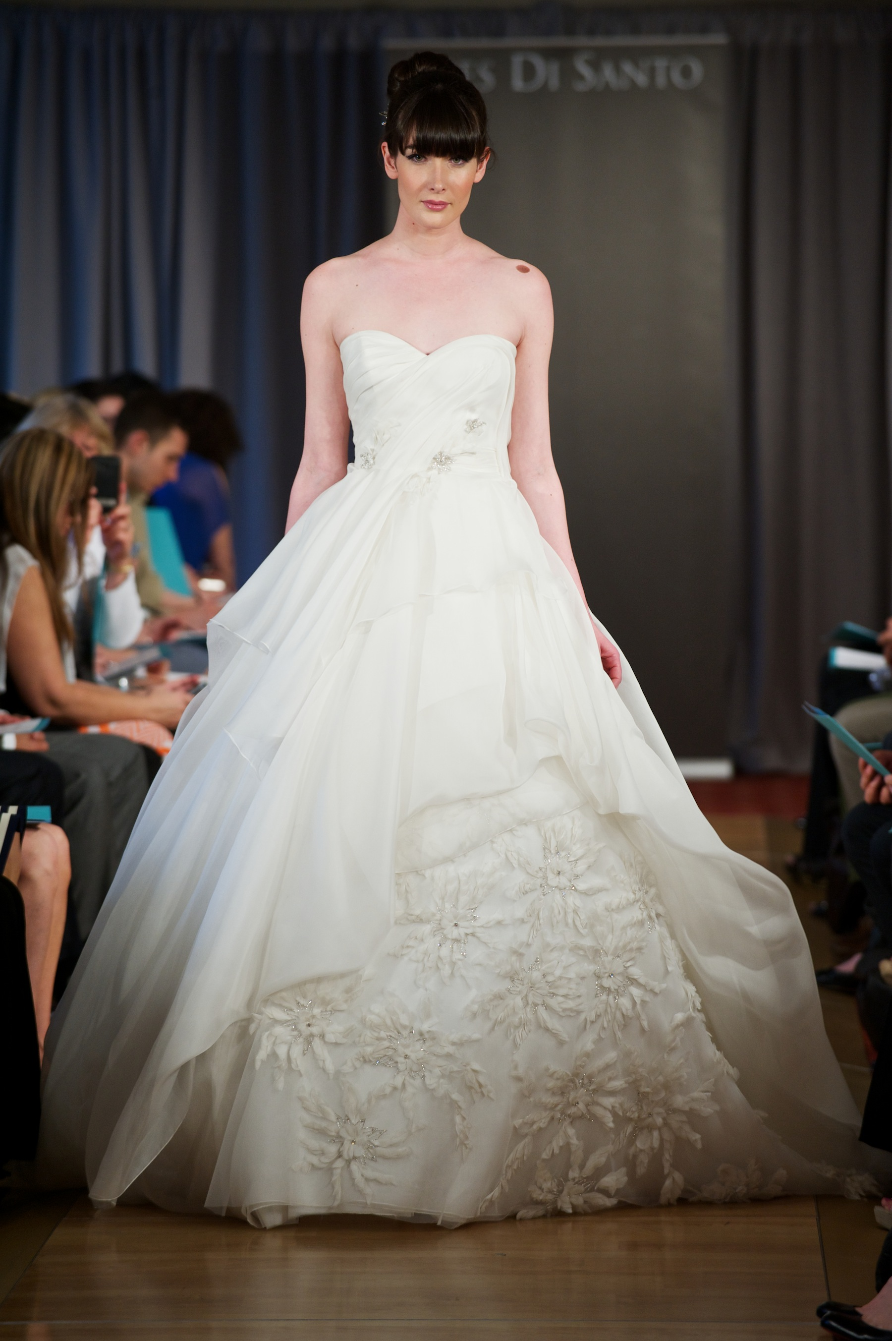 Wedding dress spring 2013 bridal gowns ines di santo 8 for Ines di santo wedding dress