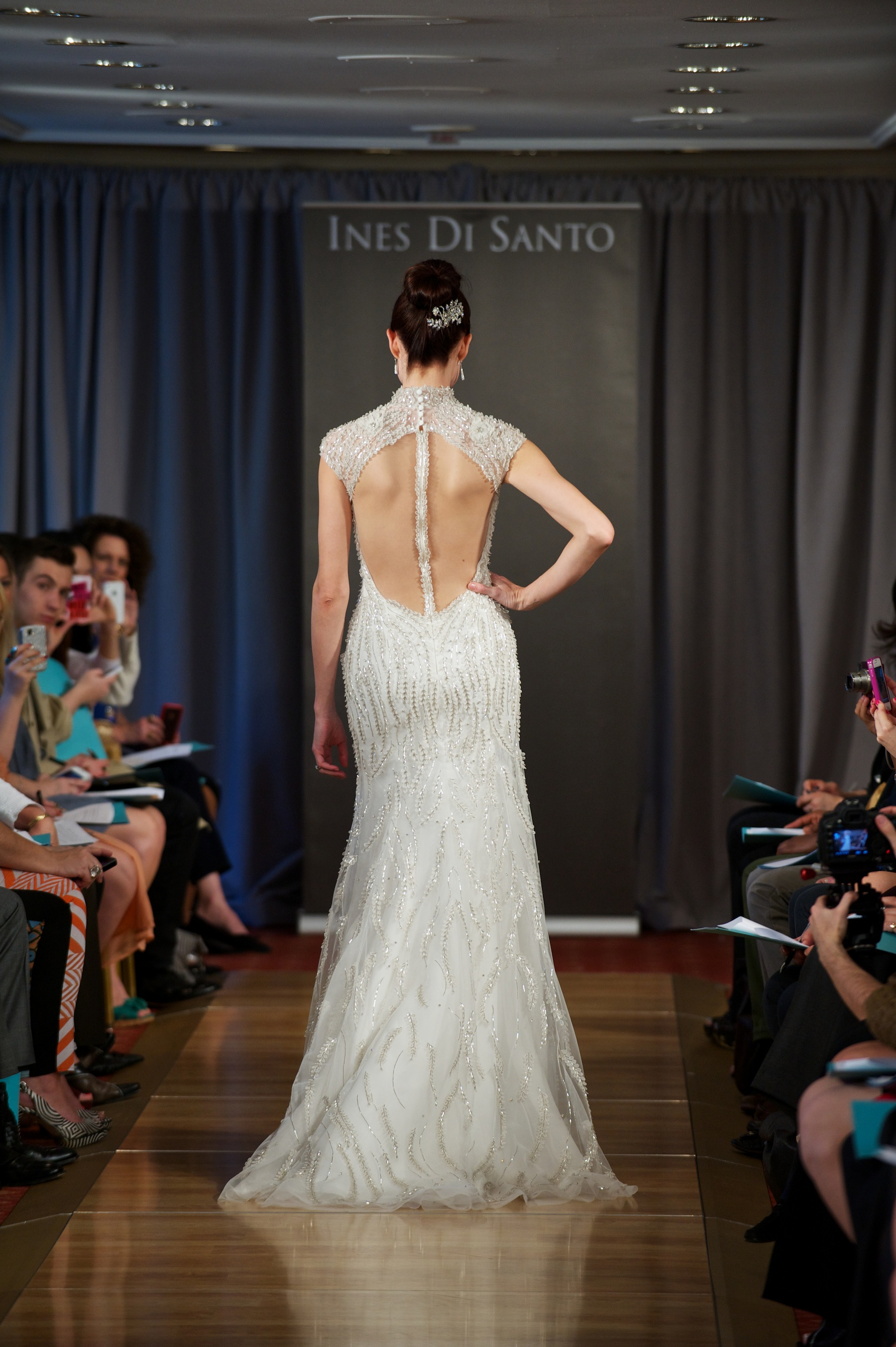 Wedding dress spring 2013 bridal gowns ines di santo 25 for Ines di santo wedding dress