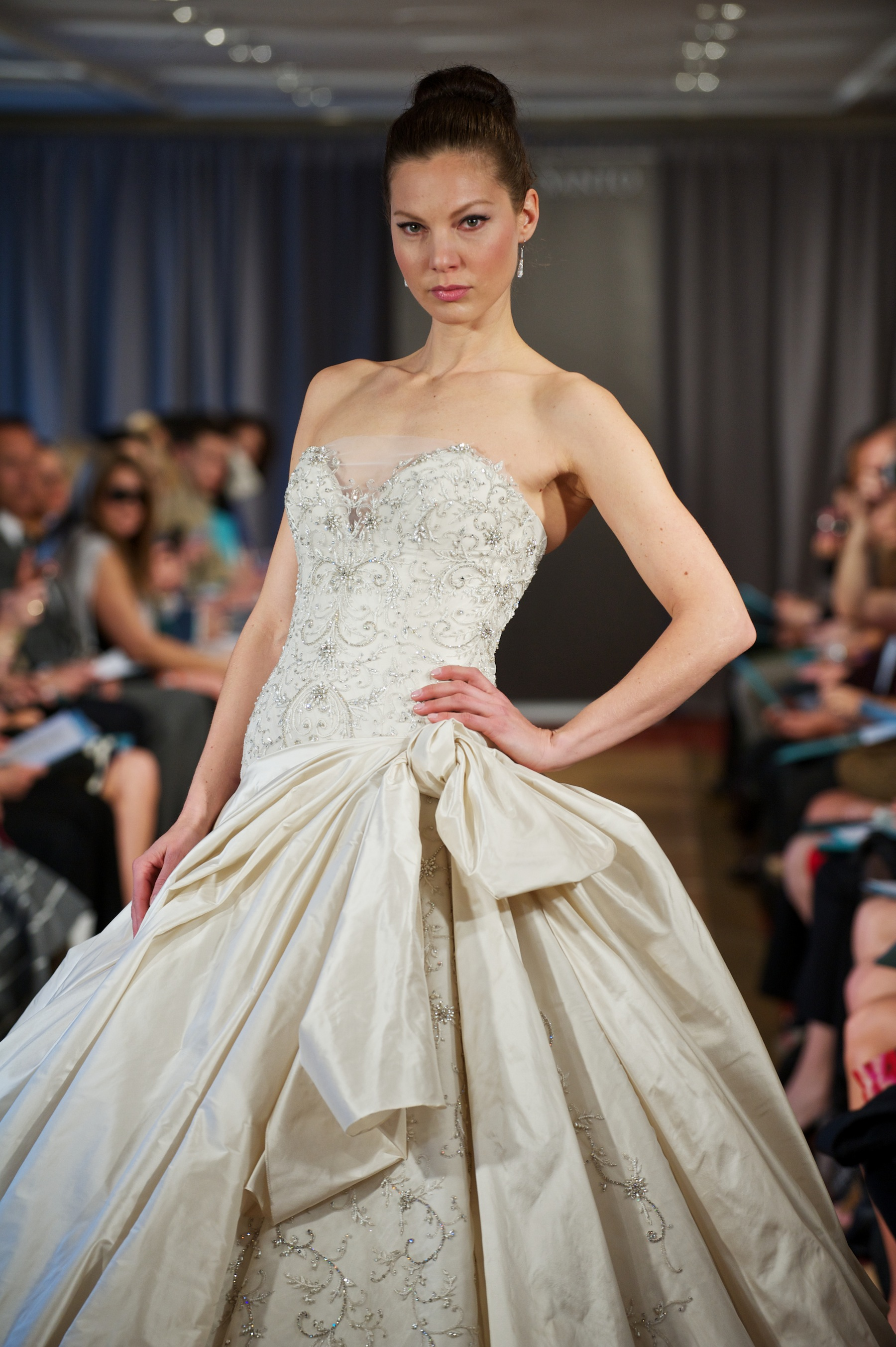 Wedding dress spring 2013 bridal gowns ines di santo 4 for Ines di santo wedding dress