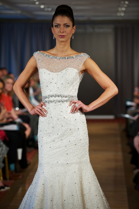 wedding dress spring 2013 bridal gowns Ines di Santo 30