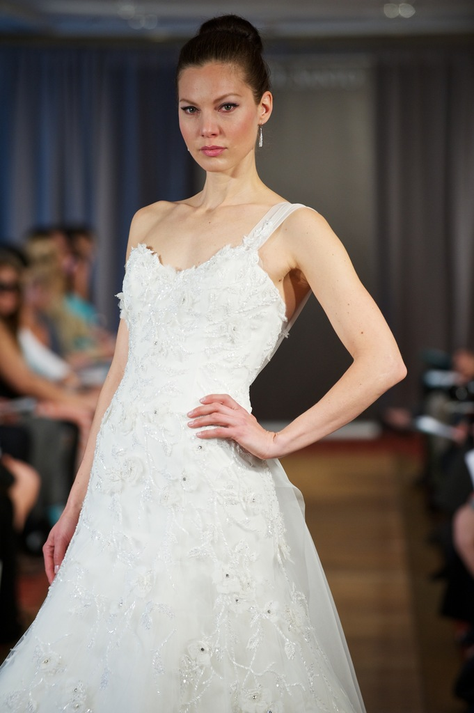 photo of wedding dress spring 2013 bridal gowns Ines di Santo 24