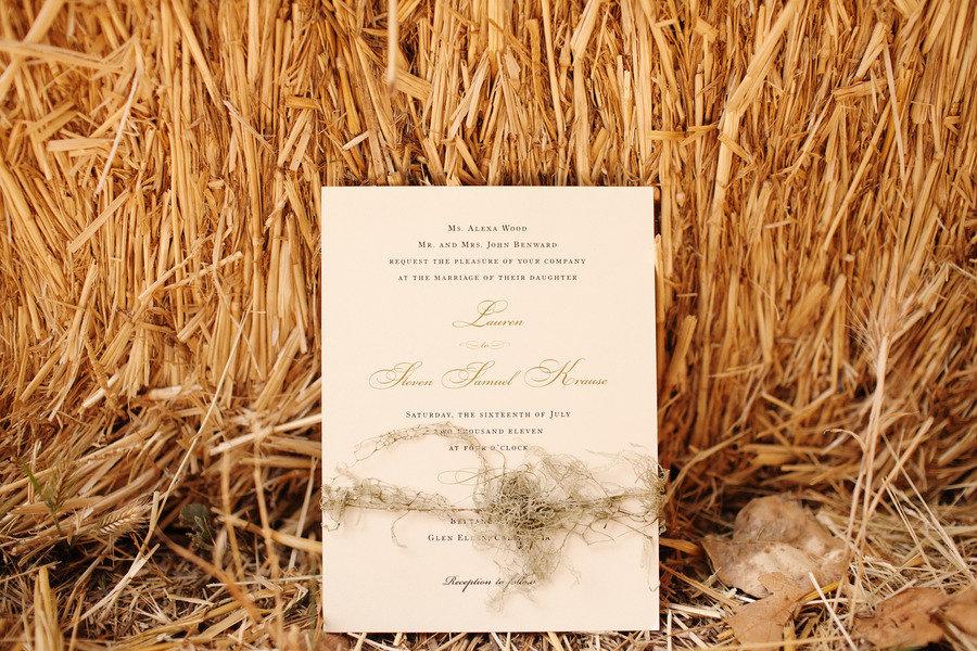 Rustic Elegant Real Wedding Outdoor Wedding Ceremony Ivory Wedding