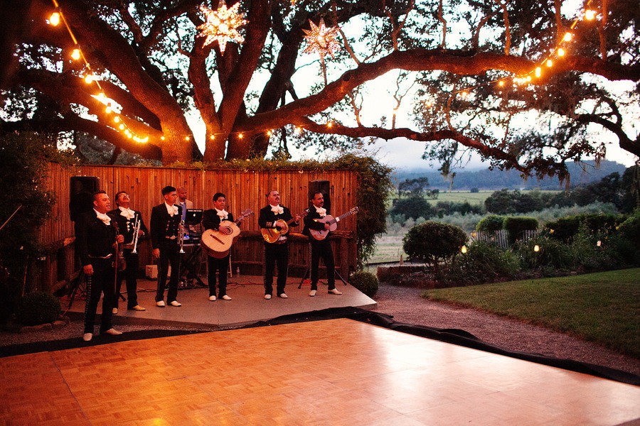 elegant real wedding outdoor wedding ceremony reception dance ...