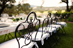 photo of Succulent-Infused Ranch/Winery Wedding