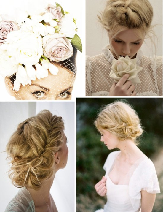 DIY wedding hair tutorials bridal beauty celebrity inspired bridal braids