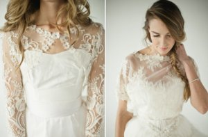 photo of Cheviano Couture bridal coverups