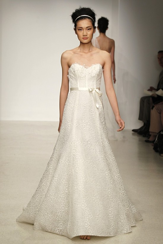 wedding dress by Christos Spring 2013 bridal gowns 3