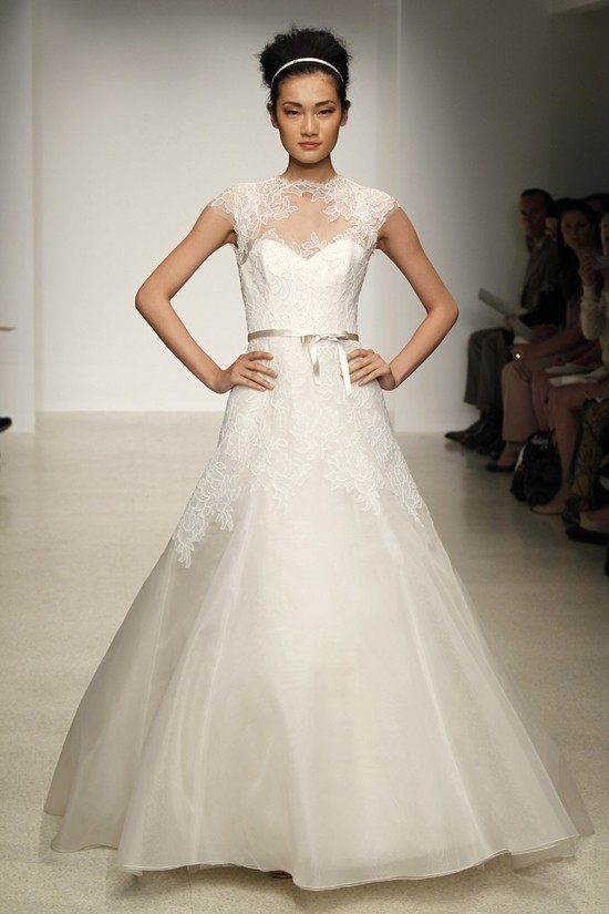 wedding dress by Christos Spring 2013 bridal gowns 2