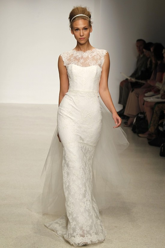 wedding dress by Christos Spring 2013 bridal gowns 1