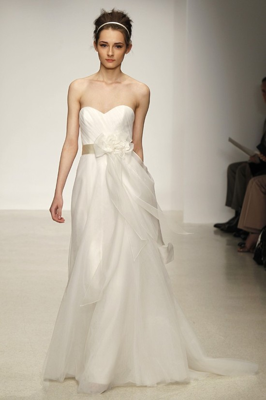 wedding dress by Christos Spring 2013 bridal gowns 5