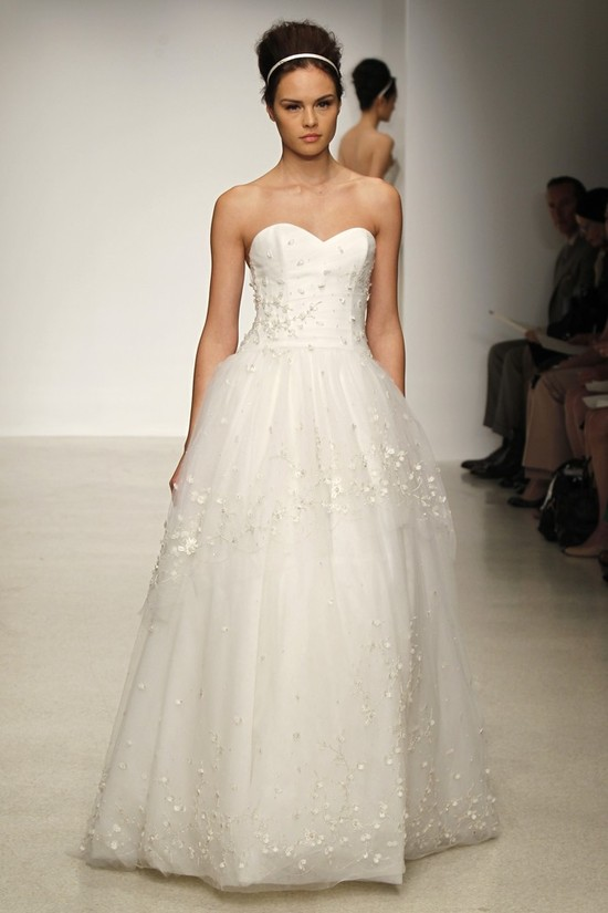 wedding dress by Christos Spring 2013 bridal gowns 12