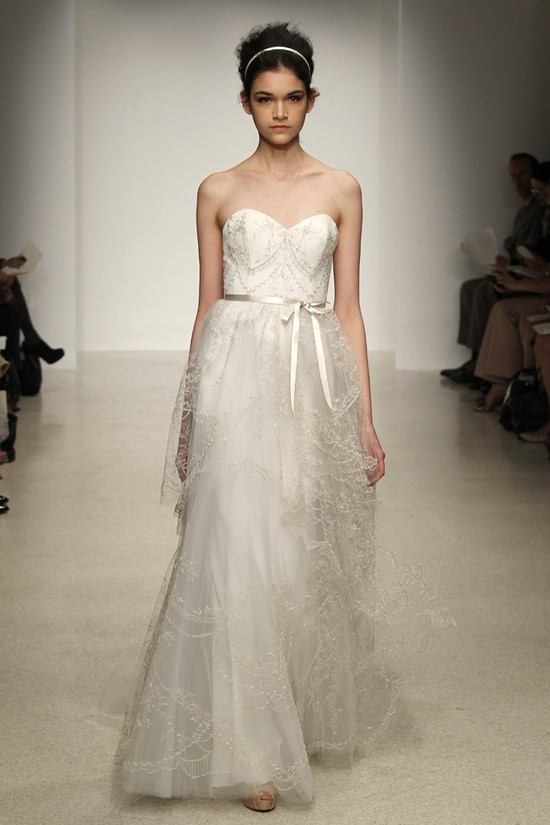 wedding dress by Christos Spring 2013 bridal gowns 13