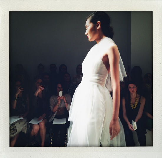 spring 2013 wedding dress bridal market runway 6