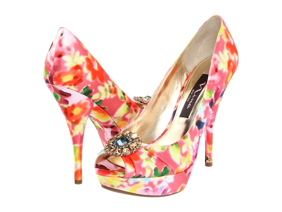 Floral-wedding-shoes-bright-peep-toe-bridal-heels.original