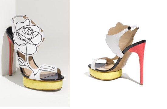 photo of Nicholas Kirkwood Flower sandal via Nordstrom