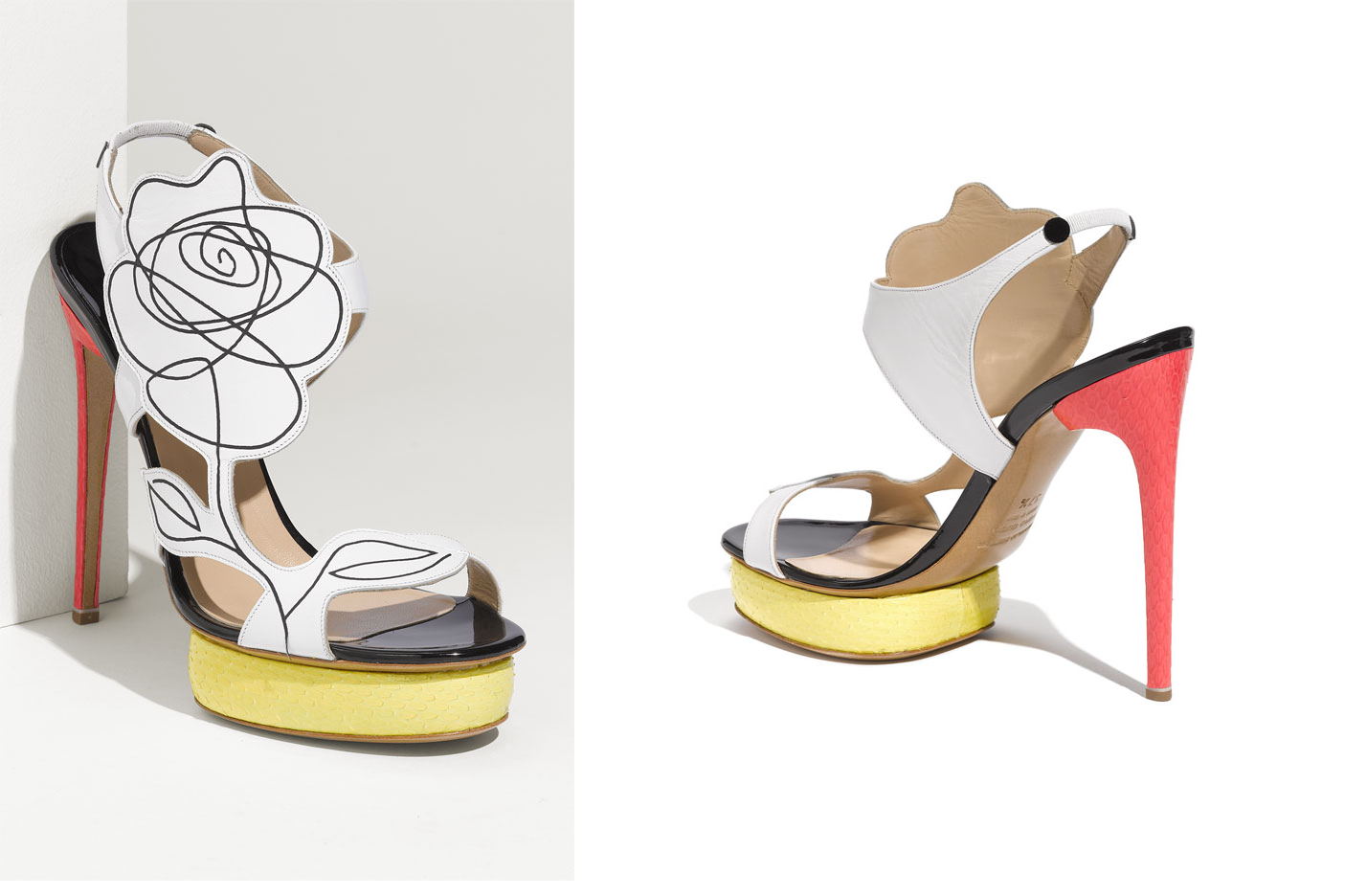 Floral-wedding-shoes-splurge-worthy-bridal-heels-white-black-red-yellow.original